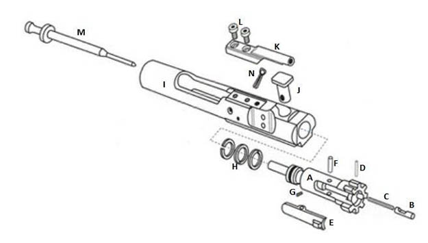 m16 exploded diagram kenmore 110 washer parts view colt creativehobby store ar 15 basics a guide to the platform gun carrier m4