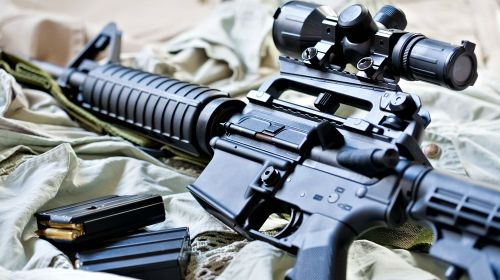 small resolution of feature ar 15 rifle and magazines with ammo ar 15 basics