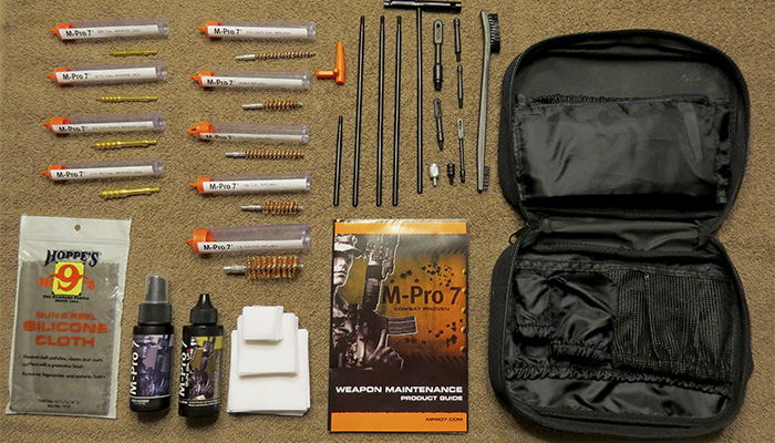 M-Pro 7 - Tactical Gun Cleaning Kit
