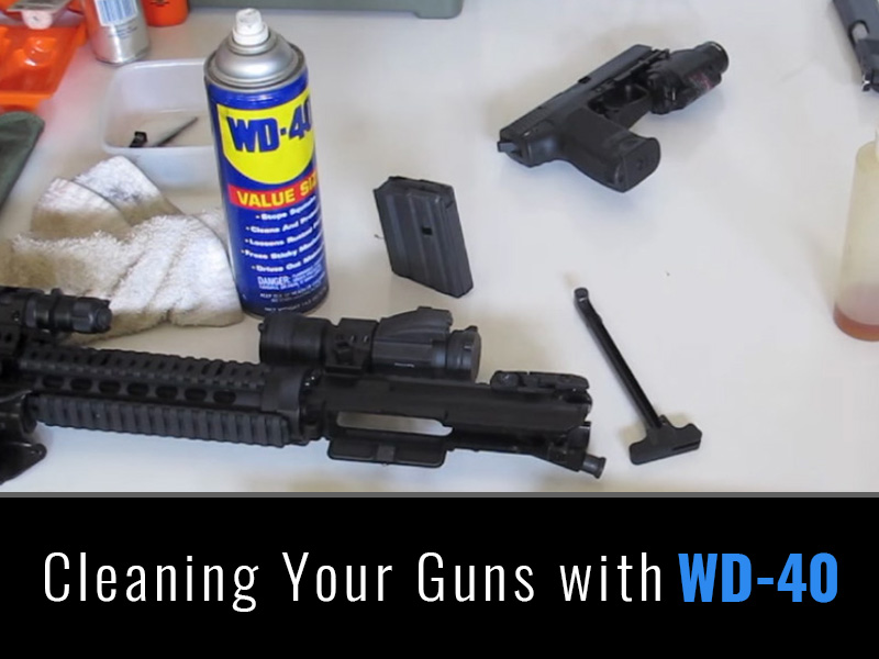 cleaning your guns with