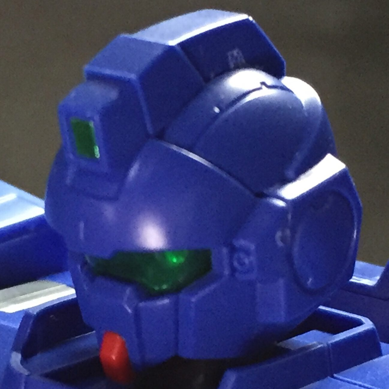 "HGUC207 1/144 RX-79BD-1 ブルーディスティニー1号機""EXAM"" BLUE DESTINY UNIT1 ""EXAM"" 頭部 head"