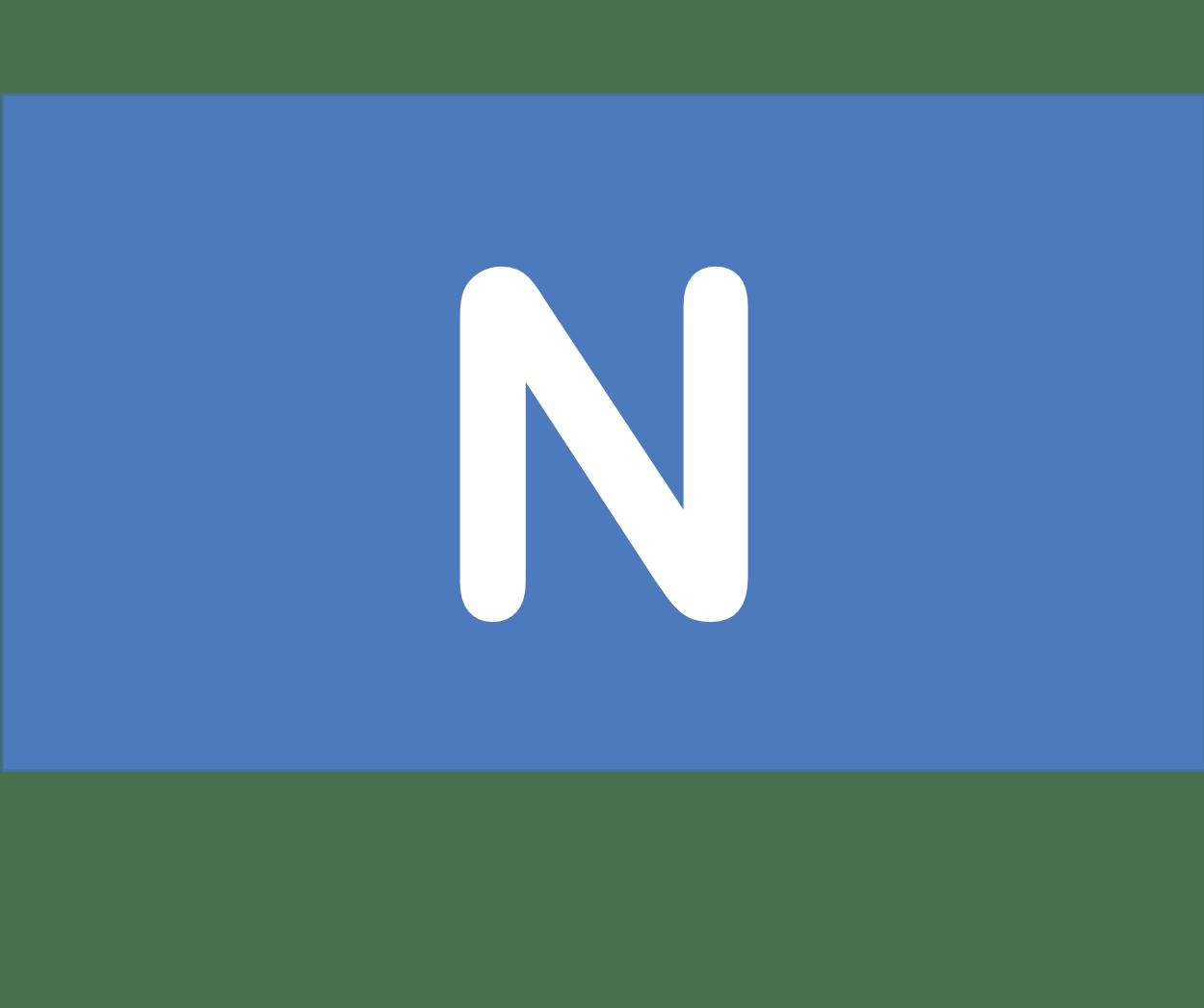 7 N 窒素 Nitrogen 元素 記号 周期表 化学 原子
