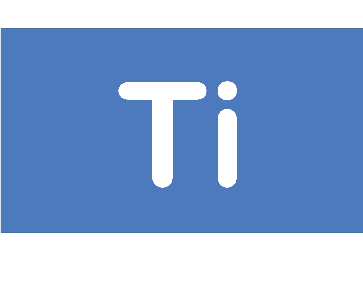 22 Ti チタン Titanium 元素 記号 周期表 化学 原子