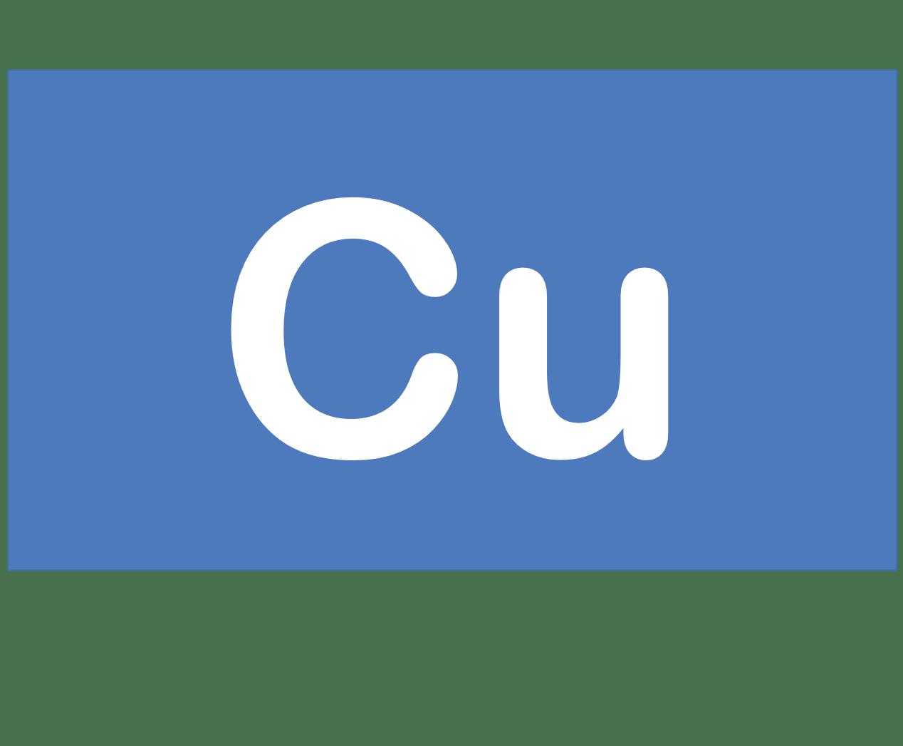 29 Cu 銅 Copper 元素 記号 周期表 化学 原子