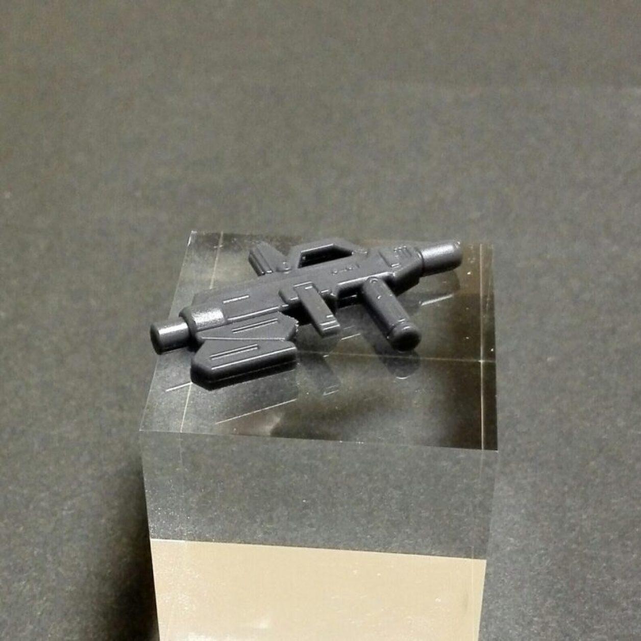 MOBILE SUIT ENSEMBLE(モビルスーツアンサンブル)第3.5弾ヘイズル改(ティターンズカラー)のビーム・ライフルの画像