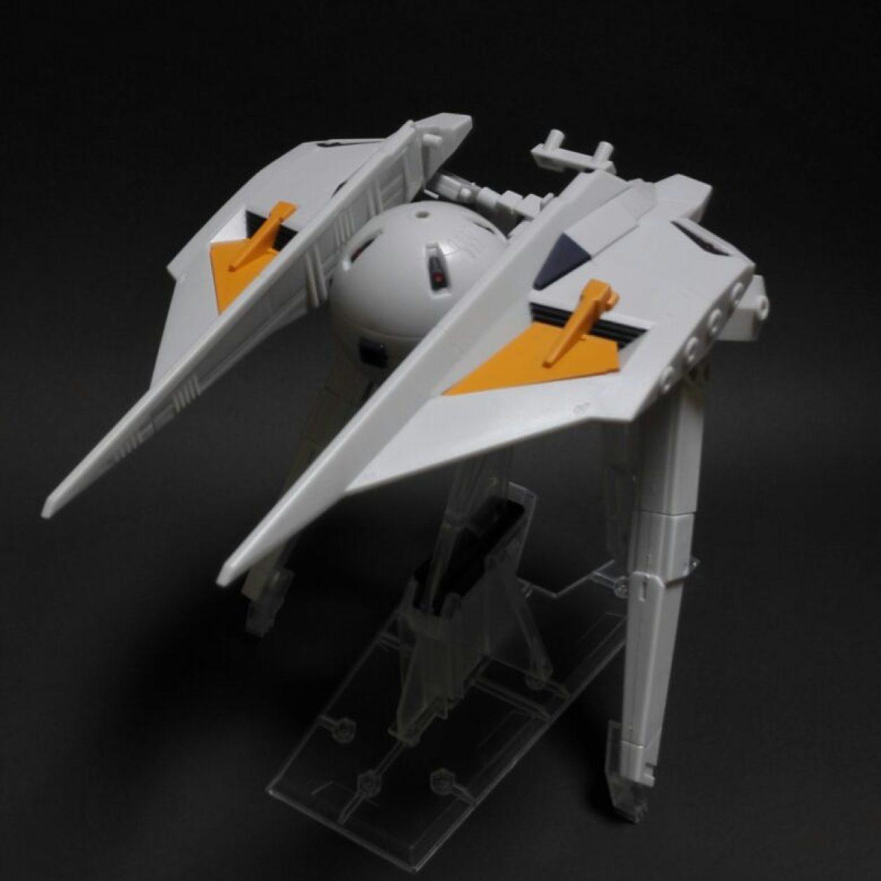 MOBILE SUIT ENSEMBLE EX09弾のガンダム TR-6「インレ」のレビューより下部構成ユニットであるダンディライアンiiユニットのMS(モビルスーツ)形態の画像