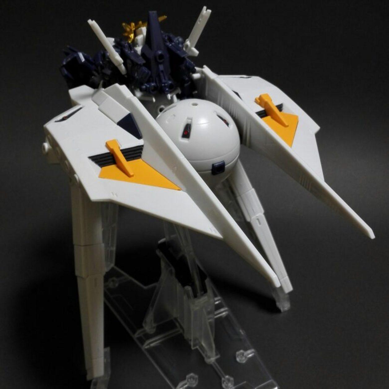 MOBILE SUIT ENSEMBLE(モビルスーツアンサンブル) EX09弾のガンダム TR-6「インレ」のレビューより下部構成ユニットである「ガンダム TR-6[ダンディライアンII]」(侵攻・殲滅形態)の画像