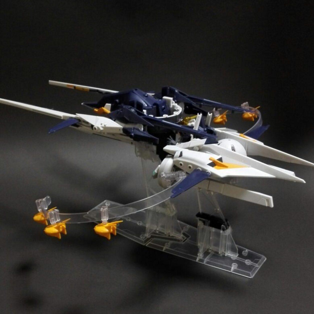 MOBILE SUIT ENSEMBLE(モビルスーツアンサンブル) EX09弾のインレのレビューよりインレMA(形態)である巡航形態の画像