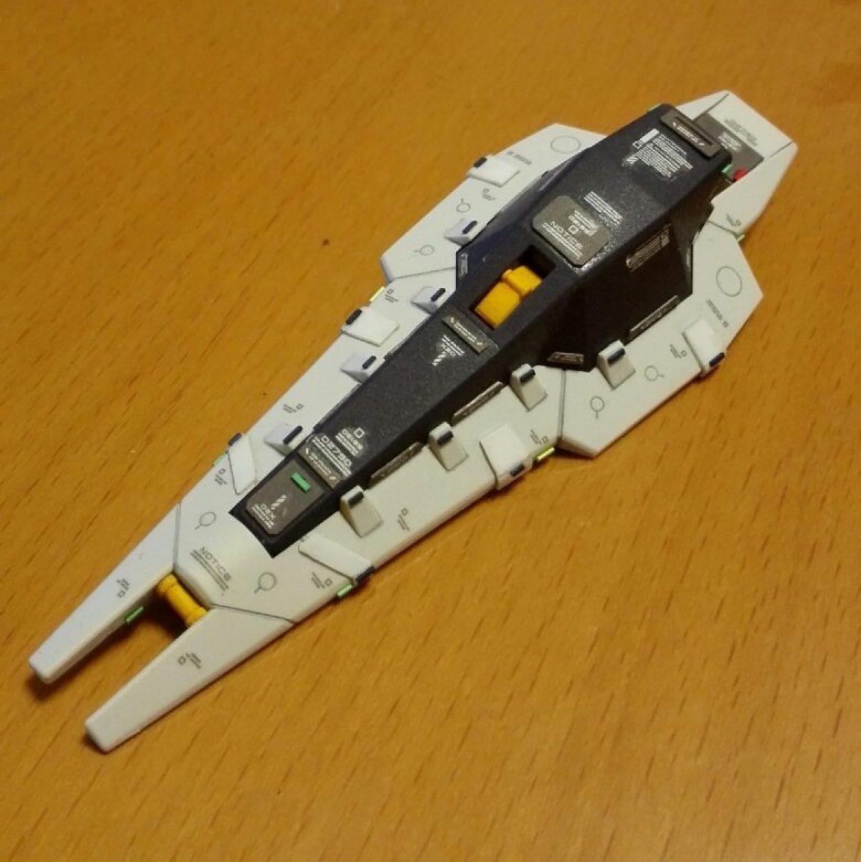 HGUC 1/144 TR-1 ガンダム[ヘイズル改]のシールド・ブースターの制作画像