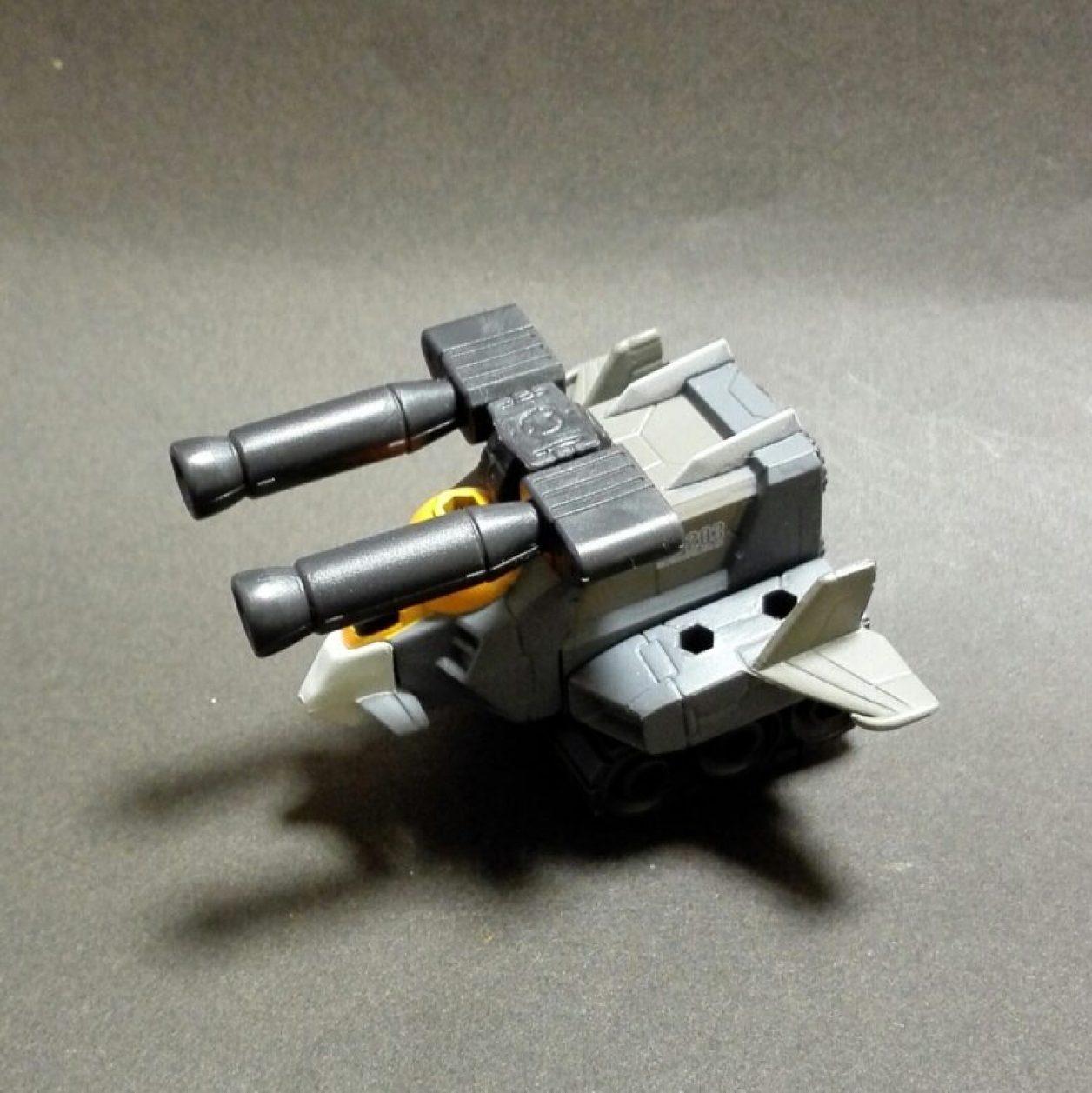 MOBILE SUIT ENSEMBLE(モビルスーツアンサンブル)1.5弾のGファイター(G3)の組立て後の画像
