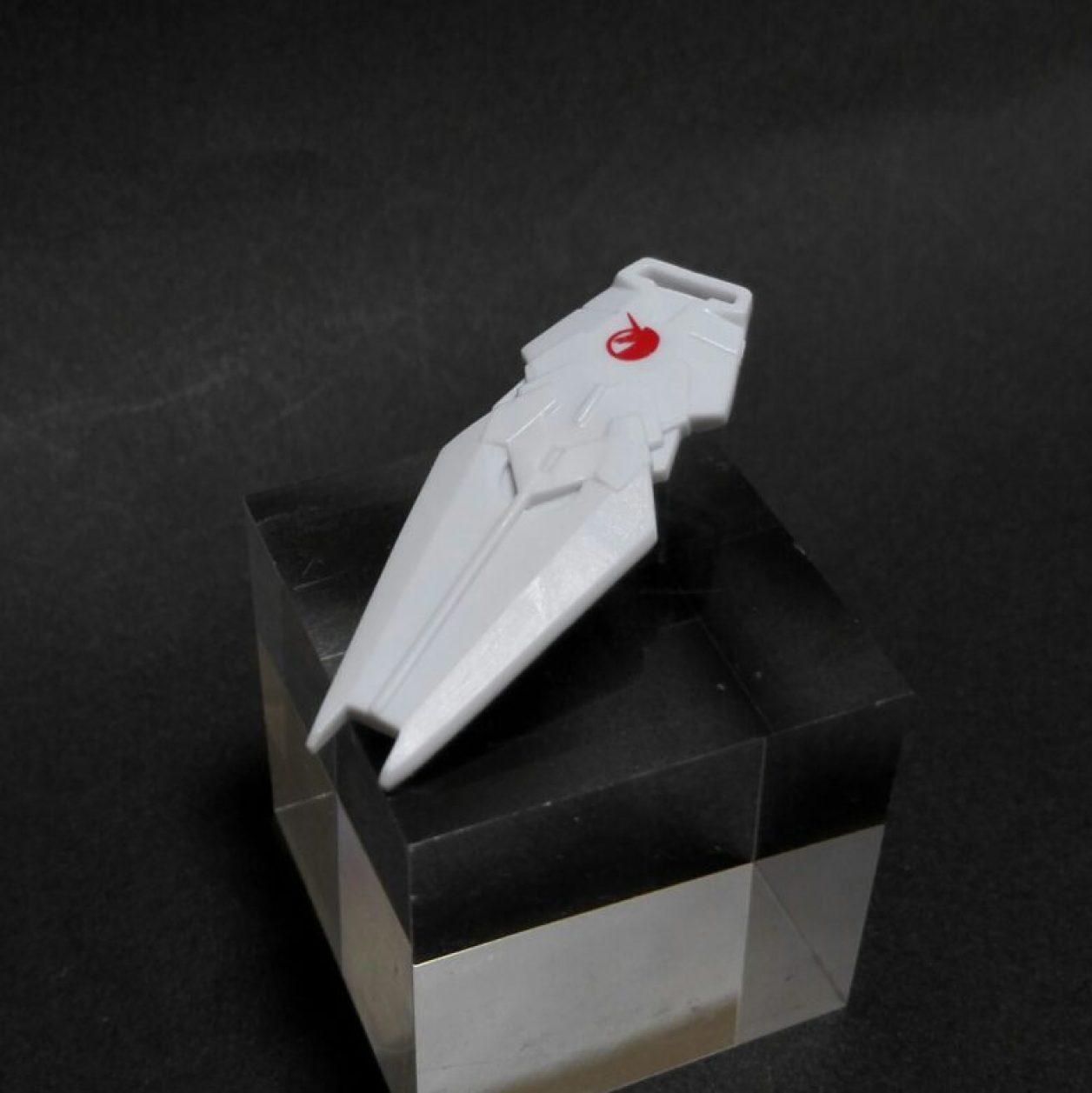 MOBILE SUIT ENSEMBLE(モビルスーツアンサンブル)第10弾のユニコーンガンダム(ユニコーンモード)の初期武装であるシールドの画像