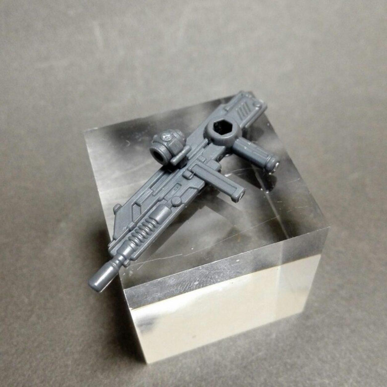 MOBILE SUIT ENSEMBLE 12弾のMS武器セットのfaガンダム用ビーム・ライフルの画像