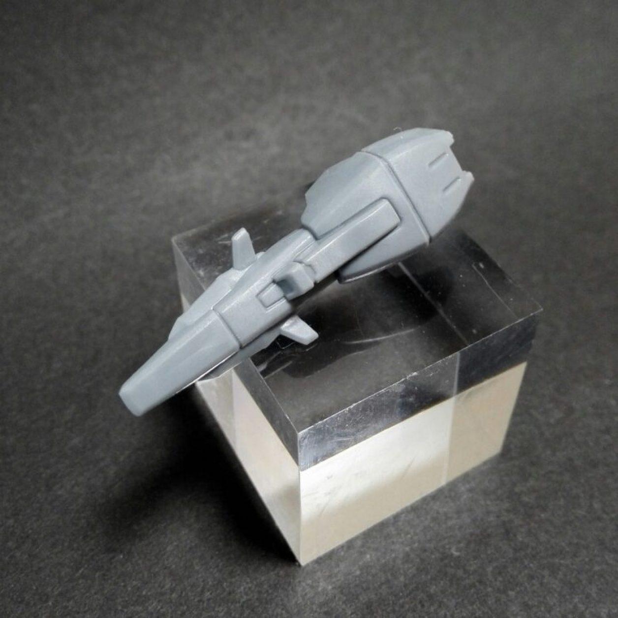mobile suite ensemble(モビルスーツアンサンブル)14弾のゼータプラスの初期武装のシールドの画像