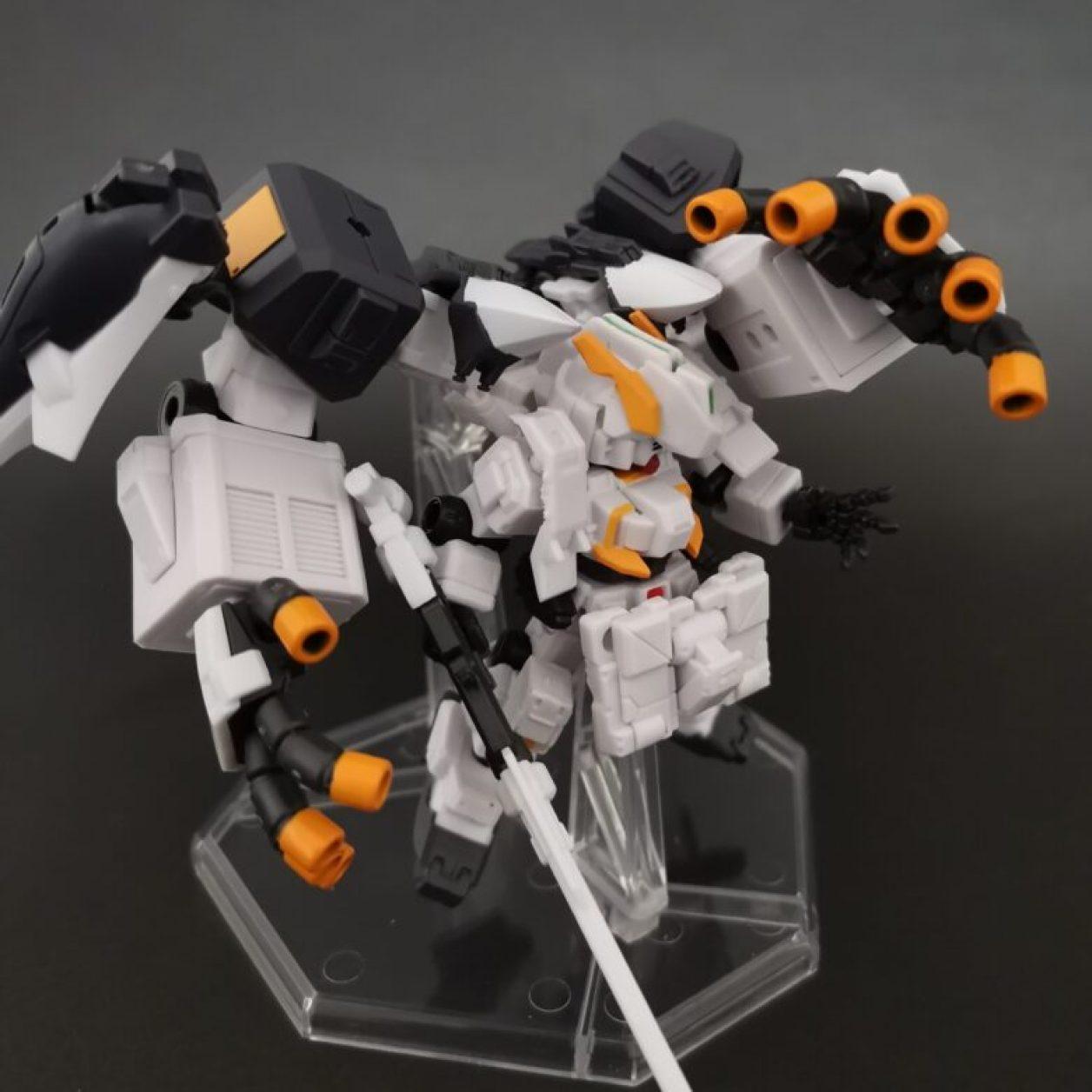 mobile suit ensemble (モビルスーツアンサンブル)ex23弾のガンダムtr-1[ヘイズル·アウスラ](ギガンティックアームユニット装備)の完成画像