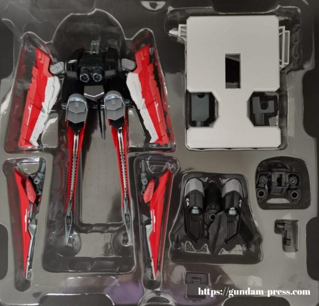 METAL BUILD(メタルビルド) フライトユニット オプションセット オルタナティブストライクVer.の付属品の画像