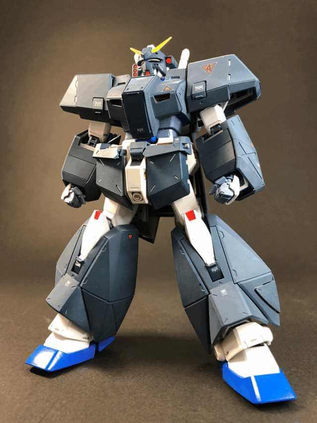 MG 1/100 ガンダムNT-1 Ver.2.0 【チョバム・アーマー装着】