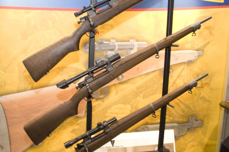 SHOT Show 2011: Gibbs Reproduction M1903A4 and M1D Garand Snipers! | Gun Digest