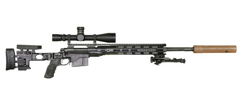 The Army's Newest Sniper Rifle Doing the Job in