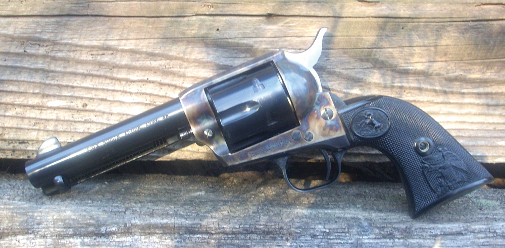 Colt Single Action Army, king of the classic revolvers.