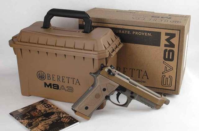 The Beretta M9A3 in 9mm.