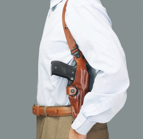 Shoulder Holsters and Carry Angle Gun Digest