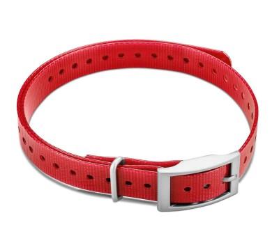 "Garmin 3/4"" Square Buckle Collar Strap - Red|www.gundogoutfitter.com"