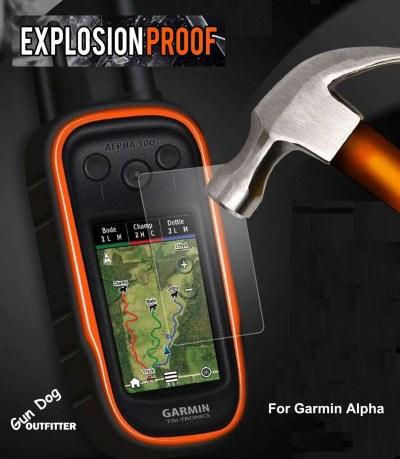 Grain Valley EXPLOSION Protective Shield for Garmin Alpha