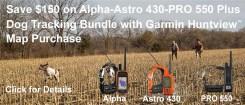 Garmin Alpha – Astro 430 – PRO 550 Rebate   gundogoutfitter   gundogoutfitter.com