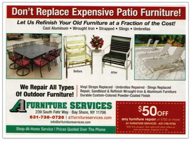outdoor furniture refinishing gundy
