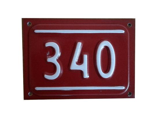 9x13 kapı numarası