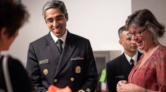 Surgeon General Dr. Murthy meets with Gun-Free UT