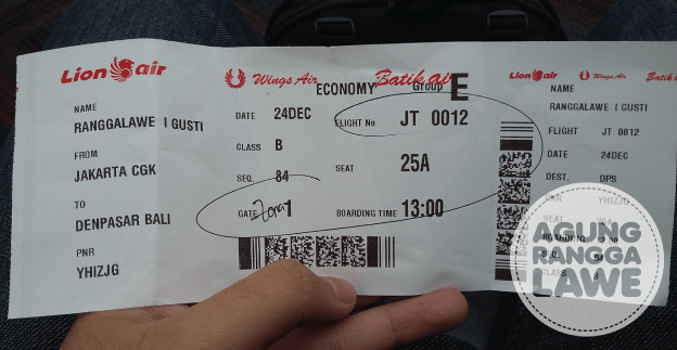 Pulang ke Bali Berangkat  Agung Rangga