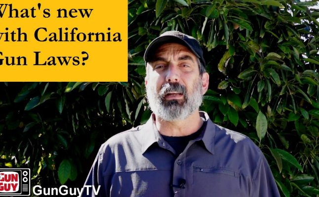 What's new with California gun laws