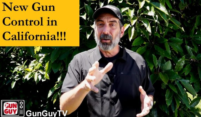 New Gun Control in California!