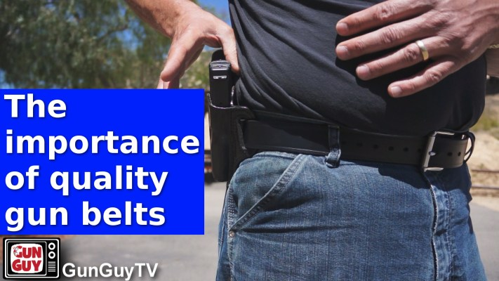 The importance of quality gun belts
