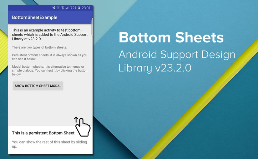 Bottom Sheets in Android