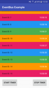 example event bus project screenshot
