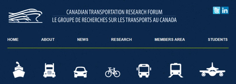 54th Annual Canadian Transportation Research Forum May 26-29, 2019