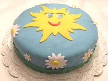 Sol-tårta