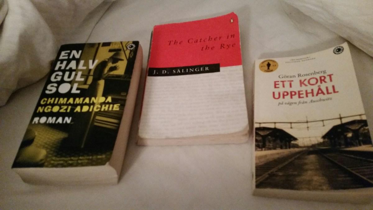#15  Tre böcker och en syster #Blogg100