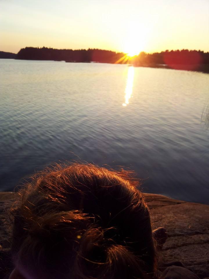 Sommarkväll vid Viren