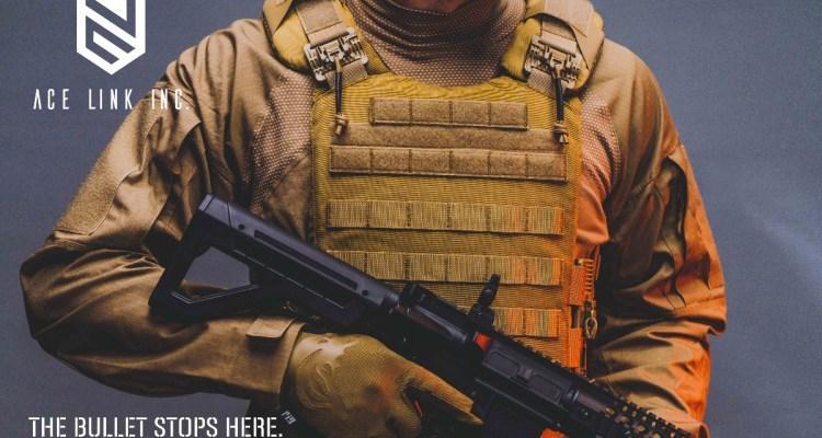 Ace Link Armor SHOT Show