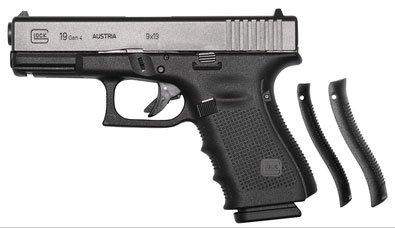 Glock 19 Gen4 Backstraps