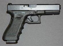 Glock 17 semi-automatic