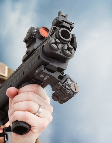 Suitable for home defense as well as law enforcement personnel