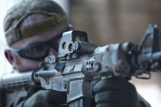 EOtech holographic weapon