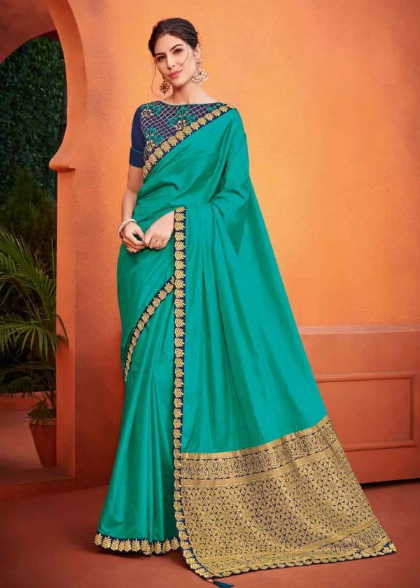 Party Wear Saree For Girls