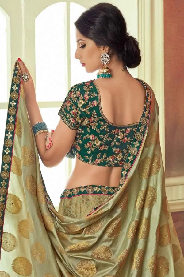 dark green bridal lehenga