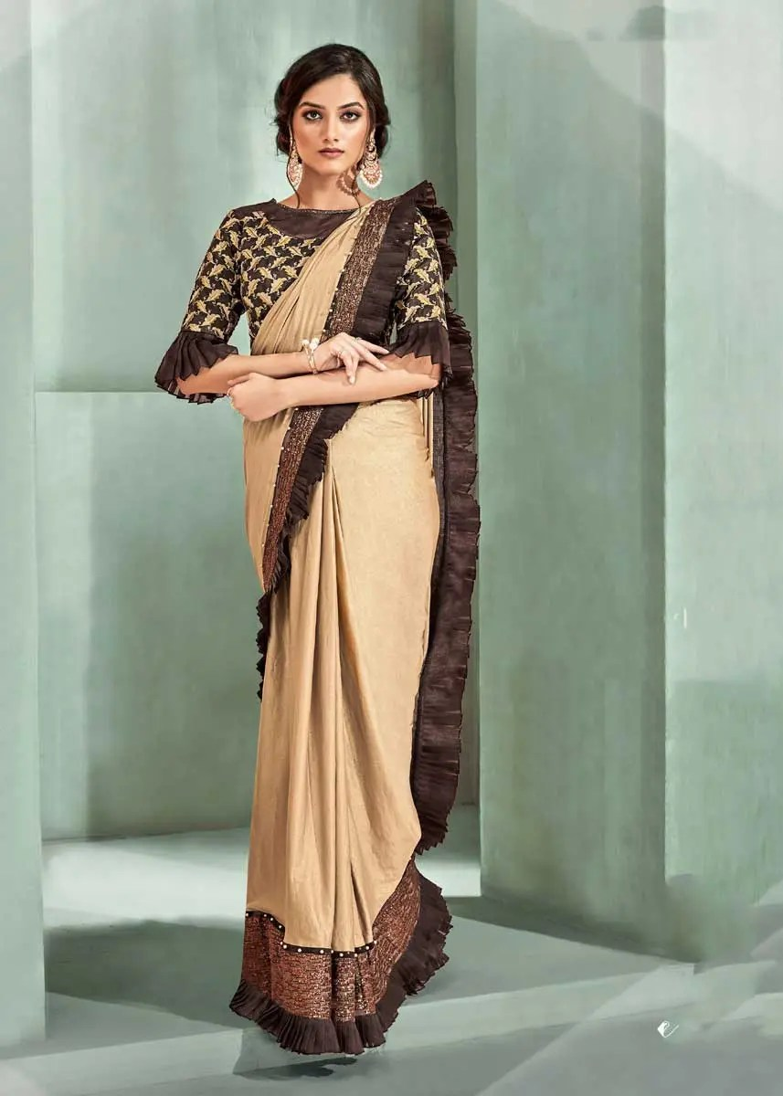 Saree With Border Designs