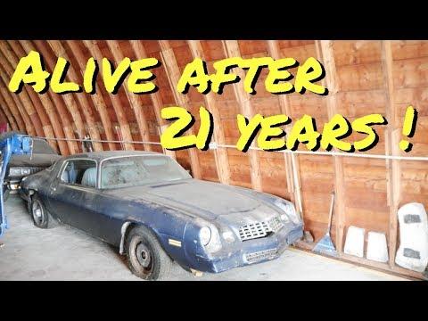 Barn Find Camaro First Start In 21 Years - Vice Grip Garage EP29 - youtube